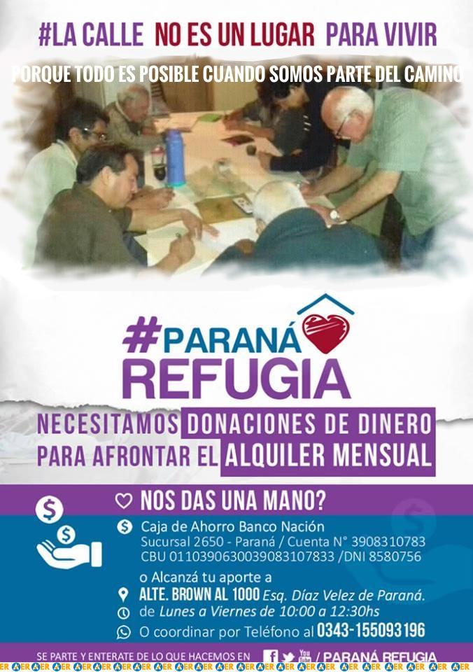 ParanaRefugia es una Cooperativa de Trabajo