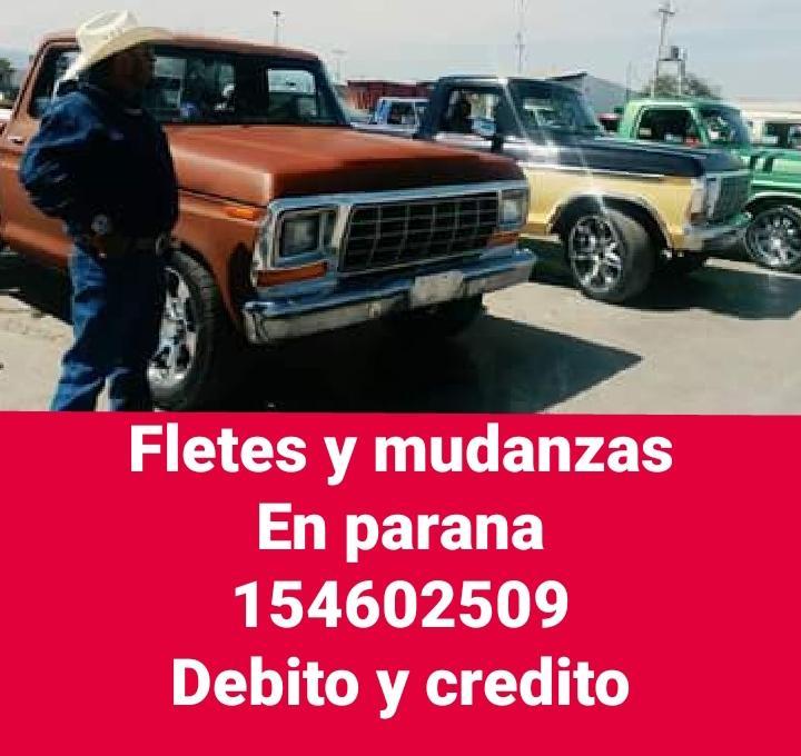 Fletes y mudanzas 154602509 debito y credito