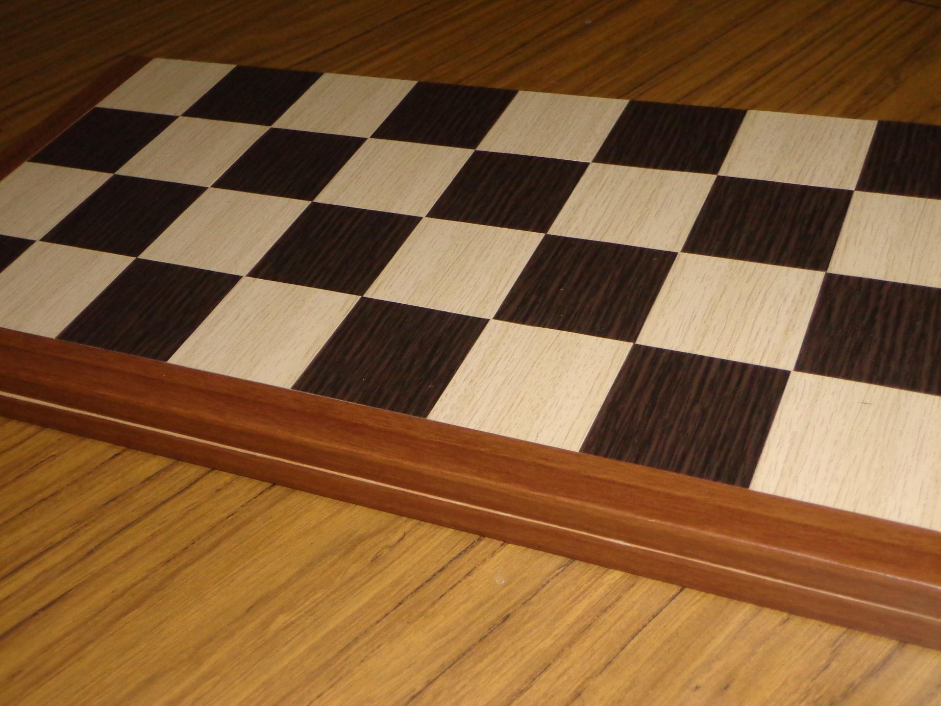 tableros ajedrez plegables  MDF enchapado
