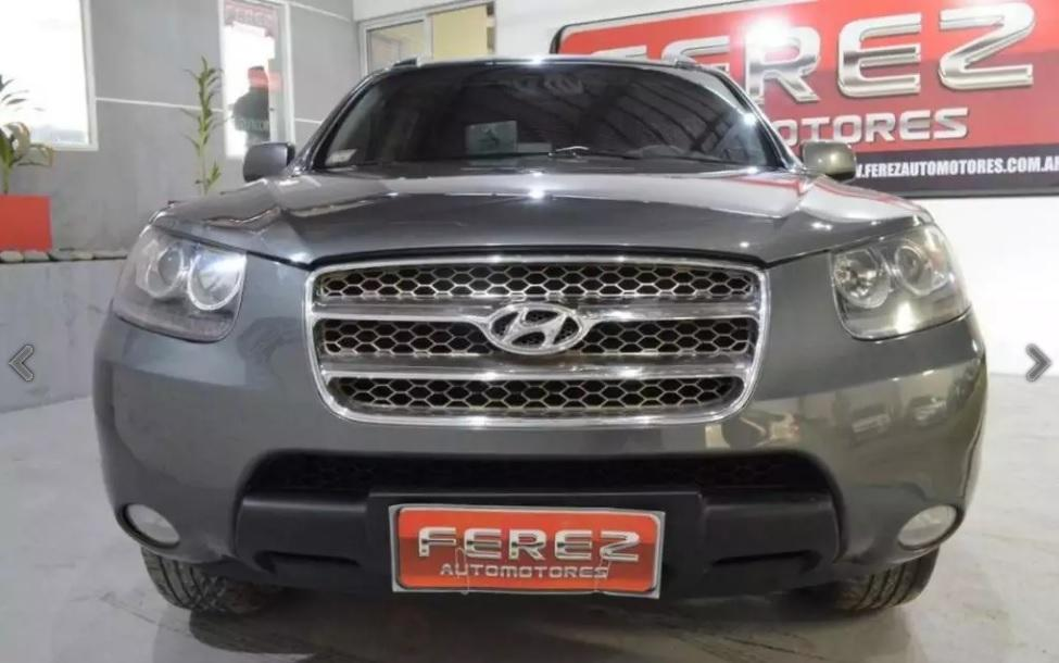 Autos en venta Hyundai santa fe 2.7 v6 automática 4x4 nafta 2008