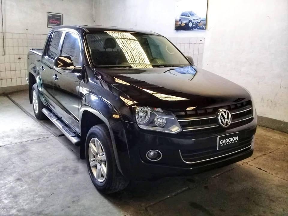 En venta excelente camioneta Volkswagen Amarok 2.0TDi Highline 4