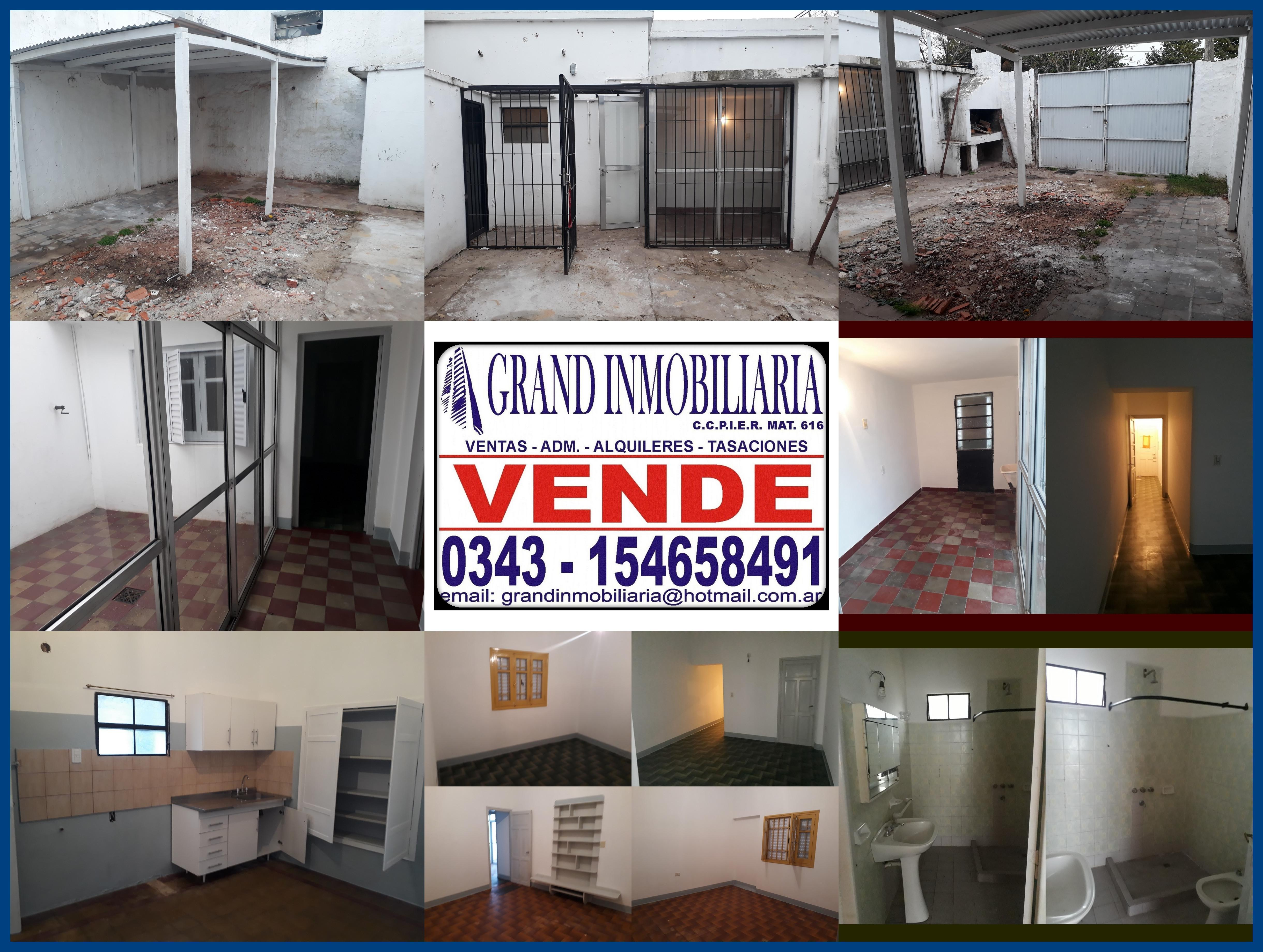 VENDO Casa alquilada con local 2 Dormitorios - Zona Blvd. Racedo