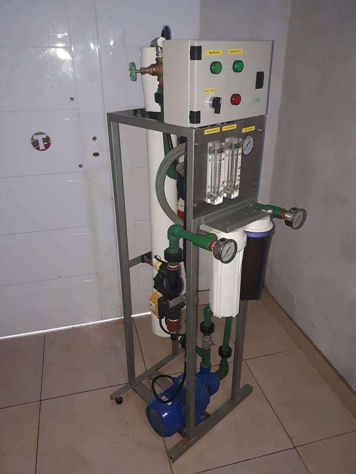 osmosis inversa 7200 lts/dia agua pura