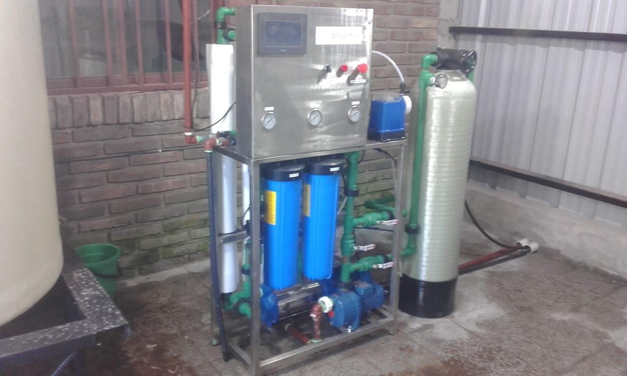 osmosis inversa + sistema ablandador 17.000 lts/dia