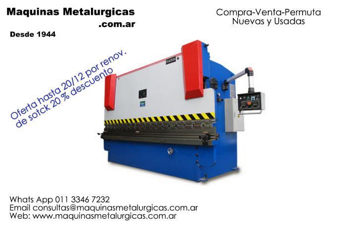 Plegadoras Hidraulicas h/22/12 - 25% des. por renovacion stock