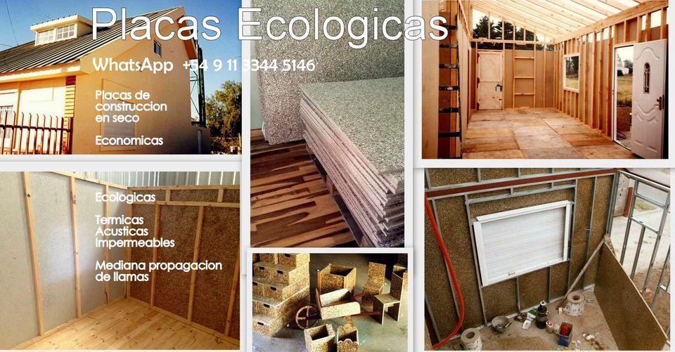 Placas ecológicas.