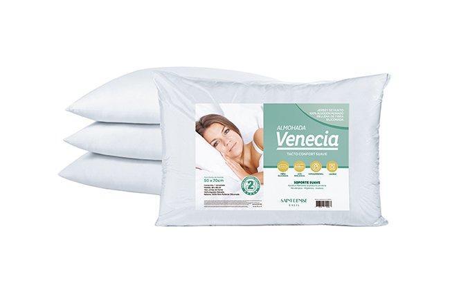 Almohada Venecia 100% Algodón